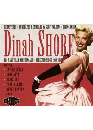 Dinah Shore - Nashville Nightingale 1939-1955 (Music CD)