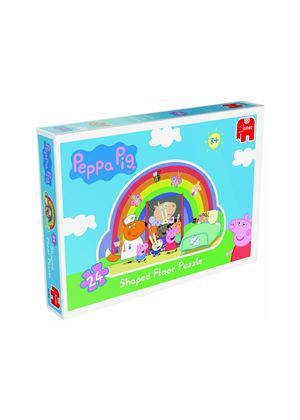Peppa Pig 24 Piece Giant Rainbow Shaped Floor Jigsaw Puzzle