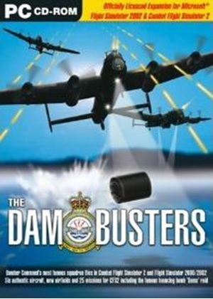 The Dam Busters: Flight Sim and Combat Flight Sim Add-On (PC CD)
