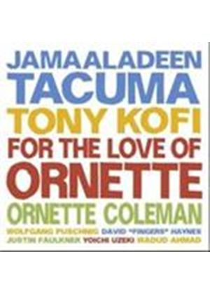 Jamaaladeen Tacuma - For The Love Of Ornette (Music CD)