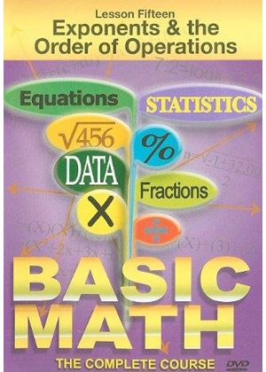 Basic Math - Exponents And The Order Of Operations