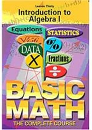Basic Maths - Introduction To Algebra