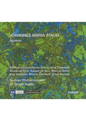 Johannes Maria Staud - Aperion (Rattle, Berliner Philharmoniker) (Music CD)