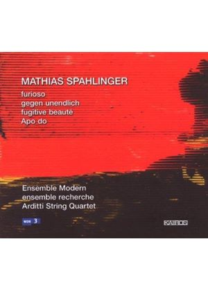 Mathias Spahlinger - Various New Works (Arditti String Quartet) (Music CD)