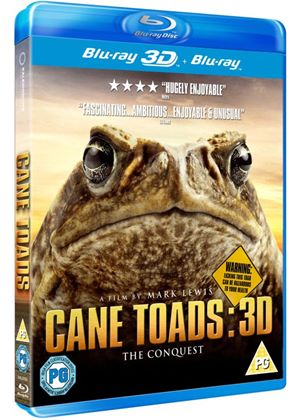 Cane Toads: The Conquest (Blu-Ray 3D)