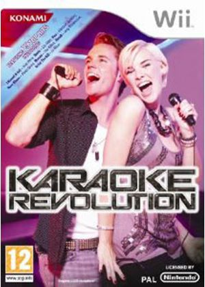 Karaoke Revolution (Wii) (Game Only)