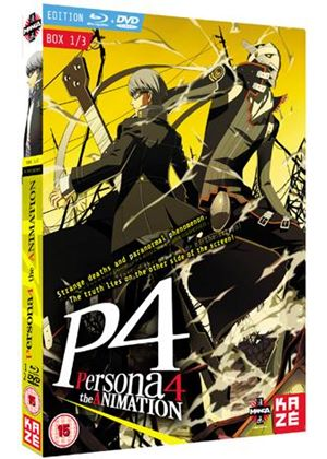 Persona 4 The Animation - Box 1 - Blu-ray/DVD Combo Pack