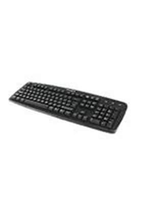 Kensington ValuKeyboard - Keyboard - PS/2, USB - black