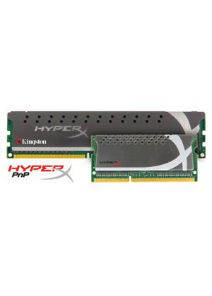 Kingston HyperX PnP - Memory - 8 GB : 2 x 4 GB - SO DIMM 204-pin - DDR3 - 1600 MHz / PC3-12800 - CL9 - 1.5 V - unbuffered - non-ECC
