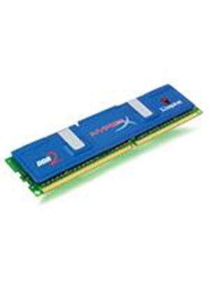 Kingston HyperX - Memory - 2 GB ( 2 x 1 GB ) - DIMM 240-pin - DDR II (DDR2) - 800 MHz / PC2-6400 - CL4 - 2 V - unbuffered - non-ECC