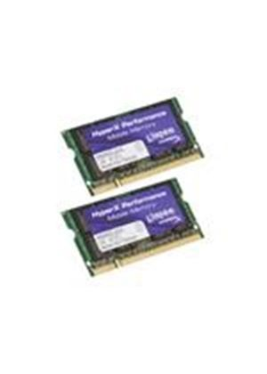 Kingston HyperX - Memory - 4 GB ( 2 x 2 GB ) - SO DIMM 200-pin - DDR2 - 800 MHz / PC2-6400 - CL5 - 1.8 V - unbuffered - non-ECC