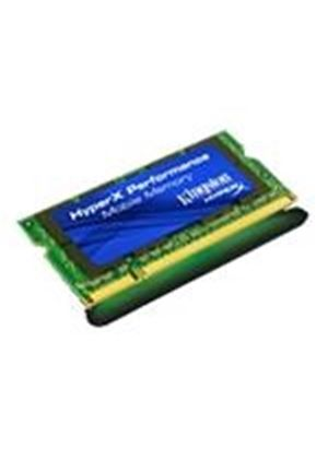 Kingston HyperX - Memory - 4 GB ( 2 x 2 GB ) - SO DIMM 200-pin - DDR2 - 800 MHz / PC2-6400 - CL4 - 1.8 V - unbuffered - non-ECC