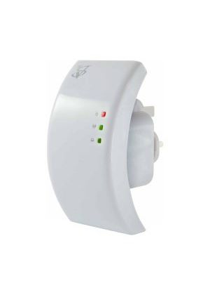 WiFi Repeater Access Point up to 300 / 150 / 54 Mbps WLAN wireless amplifier for the socket including LAN connection , for 802.11 b / g / n standards with UK Plug