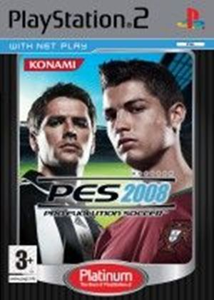Pro Evolution Soccer 2008 Platinum (PS2)