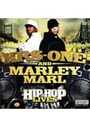 KRS-One & Marley Marl - Hip Hop Lives [PA] (Music CD)