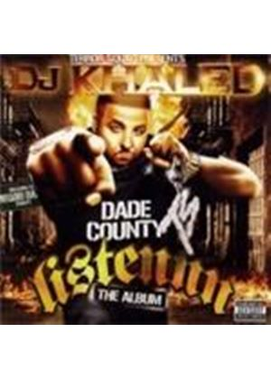 DJ Khaled - Listennn... The Album [PA] (Music CD)