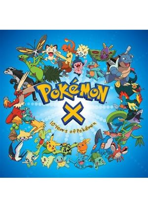 Soundtrack - Pokemon X (Ten Years of Pokemon/Original Soundtrack) (Music CD)