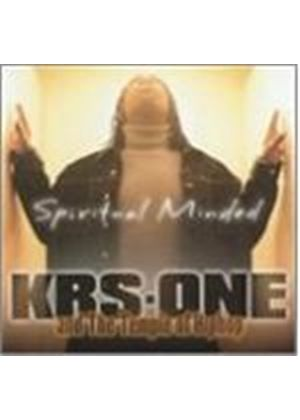 KRS-One & The Temple Of Hip Hop - Spiritual Minded (Music CD)