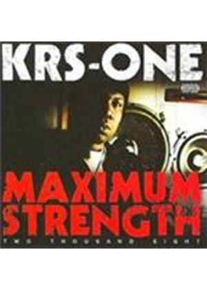 KRS-One - Maximum Strength 2008 [PA] (Music CD)