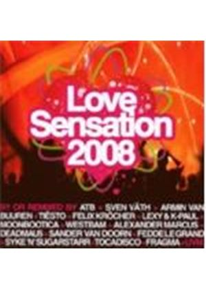Various Artists - Love Sensation 2008
