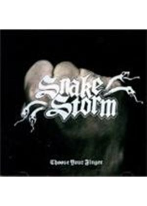 Snakestorm - Choose Your Finger (Music CD)