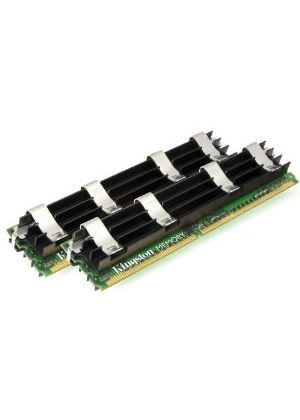 Kingston - Memory - 4 GB ( 2 x 2 GB ) - FB-DIMM 240-pin - DDR2 - 667 MHz - CL5 - 1.8 V - fully buffered # KTA-MP667AK2/4G