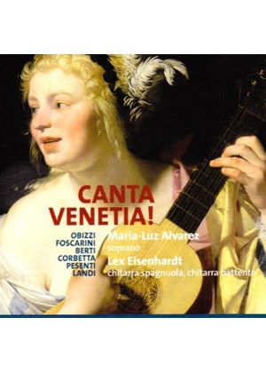 Canta Venetia! - Works for Voice and Guitar