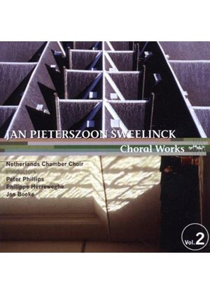 Jan Pieterszoon Sweelinck - Choral Works Vol. 2 (Netherlands Chamber Choir) (Music CD)