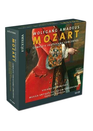 Wolfgang Amadeus Mozart: Complete Fortepiano Concertos (Music CD)