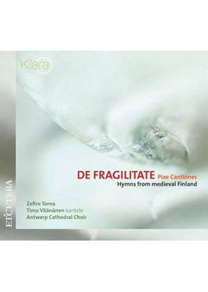 De Fragiliate - Piae Cantiones - Hymns From Medieval Finland (Torna) (Music CD)