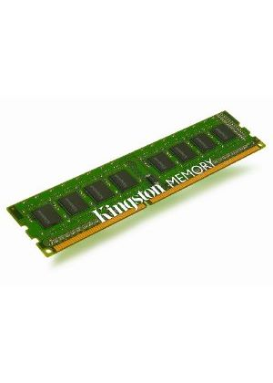 Kingston ValueRAM - Memory - 8 GB ( 2 x 4 GB ) - DIMM 240-pin - DDR3 - 1066 MHz / PC3-8500 - CL7 - 1.5 V - unbuffered - non-ECC