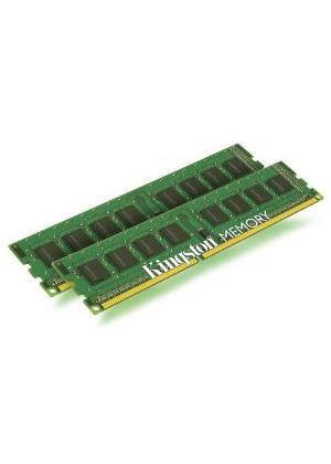 Kingston ValueRAM - Memory - 16 GB ( 2 x 8 GB ) - DIMM 240-pin - DDR3 - 1333 MHz / PC3-10600 - CL9 - 1.5 V - registered with parity - ECC