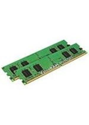 Kingston ValueRAM - Memory - 2 GB ( 2 x 1 GB ) - DIMM 240-pin - DDR II - 400 MHz - CL3 - 1.8 V - registered - ECC # KVR400D2S8R3K2/2G