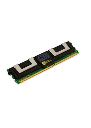 Kingston ValueRAM - Memory - 8 GB - FB-DIMM 240-pin - DDR2 - 667 MHz - CL5 - 1.8 V - fully buffered - ECC # KVR667D2D4F5/8G