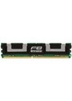 Kingston ValueRAM - Memory - 4 GB ( 2 x 2 GB ) - FB-DIMM - DDR II - 667 MHz - CL5 - 1.8 V - fully buffered - ECC # KVR667D2D8F5K2/4G
