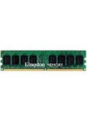 Kingston ValueRAM - Memory - 2 GB ( 2 x 1 GB ) - DIMM 240-pin - DDR II - 667 MHz / PC2-5300 - CL5 - 1.8 V - unbuffered - ECC # KVR667D2E5K2/2G