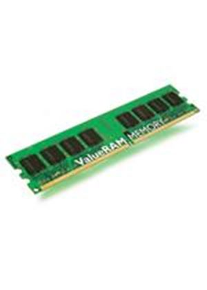Kingston ValueRAM - Memory - 1 GB - DIMM 240-pin - DDR II (DDR2) - 667 MHz / PC2-5300 - CL5 - 1.8 V - unbuffered - non-ECC # KVR667D2N5/1G