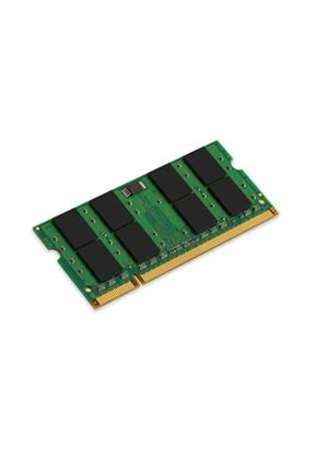 Kingston ValueRAM - Memory - 2 GB - SO DIMM 200-pin - DDR II (DDR2) - 667 MHz / PC2-5300 - CL5 - 1.8 V - unbuffered - non-ECC # KVR667D2S5/2G