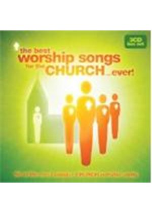 Various Artists - Best Worship Songs From The Church... Ever (Music CD)