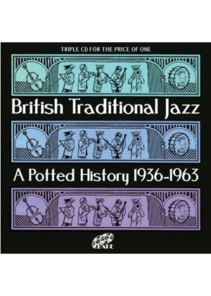 Various Artists - British Traditional Jazz (A Potted History 1936-1963) (Music CD)