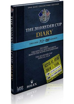 The 2010 Ryder Cup Diaries and 38th Ryder Cup Official Film (Blu-Ray + DVD)