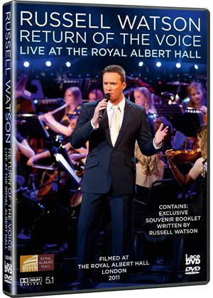 Russell Watson Return of the Voice - Live From the Royal Albert Hall