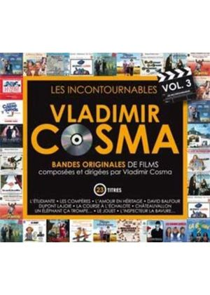 Vladimir Cosma - Cosma Soundtracks, Vol. 3 (Original Soundtrack) (Music CD)