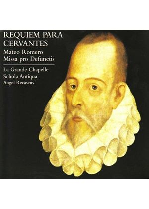 Mateo Romero: Requiem para Cervantes (Music CD)