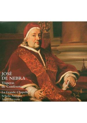 José de Nebra: Vespers of Confessors (Music CD)