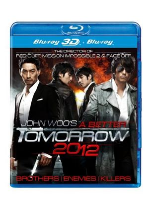 A Better Tomorrow 2012 3D (John Woo) (Blu-ray 3D + Blu-ray)