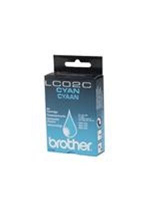 Brother LC02C - Print cartridge - 1 x cyan - 400 pages