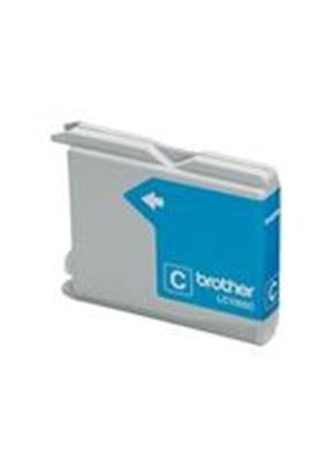 Brother LC1000C - Print cartridge - 1 x cyan - 400 pages