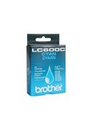 Brother LC600C - Print cartridge - 1 x cyan - 450 pages
