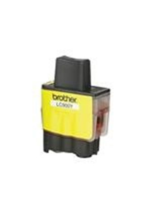 Brother LC900Y - Print cartridge - 1 x yellow - 400 pages
